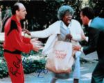 Whoopi Goldberg & Raye Birk,  genuine signed autograph 10380